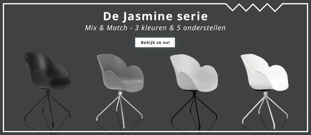 Jasmine serie design stoelen